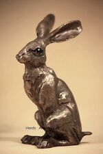 Huey Hare Bronzed Wildlife Sculpture by Paul Jenkins