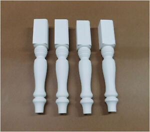 """15.25"""" Solid Wood Table Legs Set of 4"""