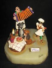 Ron Lee Disney Lady & The Tramp Spaghetti Dinner  LE 1306/1500 Figurine