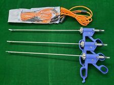 4pc Laparoscopic Bissinger Bipolar Marylandroby With Cable 5mmx330mm Instrument