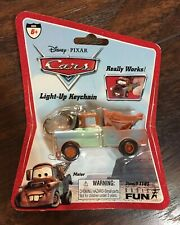 NEW 2006 Basic Fun Disney/Pixar CARS Collectible Mater Light-Up Keychain