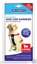 NEW Hi-Craft Dog Car Harness Travel Safety Seat-belt for Dogs SIZE LARGE