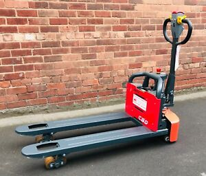 😬 NEW Manforce 1500kg capacity fully electric pallet truck £1250 inc of vat👍