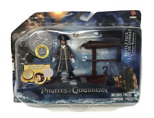 Pirates of the Caribbean Capt. Barbossa Action Figure Battle Pack ***NEW***