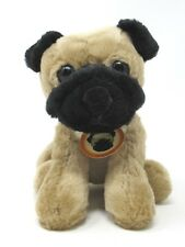 """Golden Bear Collection Chinese Pug Dog Puppy 9"""" Plush 2002"""