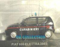 1:43 Carabinieri / Police - FIAT 600 ELETTRA - 2003 _(50)