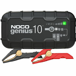 NOCO Genius GENIUS10 6V 12V 10Amp UltraSafe Battery Charger and Maintainer