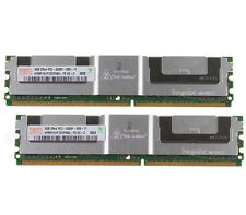 Hynix 8GB 2X 4GB DDR2 2RX4 PC2-5300F 667MHZ ECC Fully Buffered FB-DIMM Memory