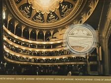 Ukraine 5 griven 150 years of the National Academic Opera and Ballet in Buklet