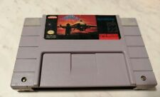 AeroFighters (Super Nintendo, SNES) Game Cart Only -100% Authentic Aero Fighters