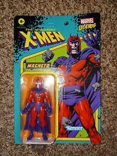 Hasbro Kenner Marvel Legends Retro Magneto 3.75? Figure in hand UNPUNCHED