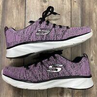 Skechers Womens Size 7.5 Memory Foam Lace Up Lightweight Sneakers Shoes