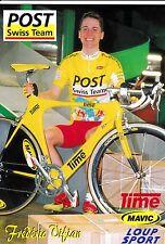 CYCLISME carte  cycliste FREDERIC VIFIAN équipe POST SWISS TEAM