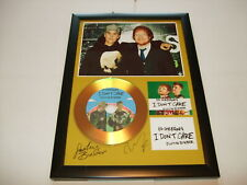 JUSTIN BIEBER  / ED SHEERAN    SIGNED  GOLD CD  DISC