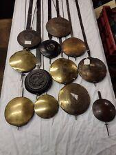 More details for 12 longcase clocks pendulums