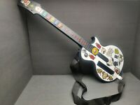 Nintendo Wii Red Octane Les Paul Guitar Controller Guitar Hero White 95125
