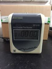 KING POWER MICRO COMPUTER TIME RECORDER KP-210DB