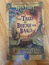 HARRY POTTER 📚 Tales Of Beedle The Bard 1st Edition 1st Print Signed Facsimile