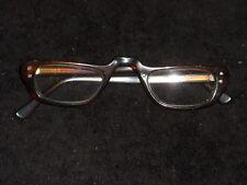 VAM Eyeglasses Frames Glasses Amber Horn-Rimmed Vintage Retro (#5) D6