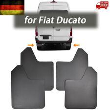 4x Schmutzfänger Satz vorne Hinten für Fiat Ducato 250 244 Light Spritzlappen