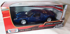 Ford GT Concept Dark Blue Motor Max 1-24 Scale Model New in box