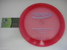 Disc Golf Innova Champion Groove Understable Distance Driver 168g Red