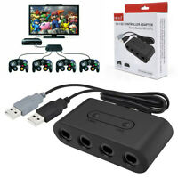4 Port Gamecube Controller Adapter For Nintendo Switch NGC Wii U & PC USB