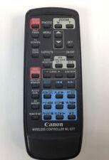 Canon GL2 Remote Commander Wireless Original OEM Used Genuine Canon