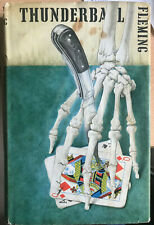Ian Fleming - James Bond - Thnderball London Cape 1961 FIRST EDITION - Unclipped