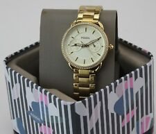 NEW AUTHENTIC FOSSIL TAYLOR GOLD MULTIFUNCTIONAL WOMEN'S LADIES ES4263 WATCH