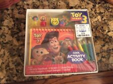 Disney Pixar Toy Story 3 Cool Activity Book Stampers Woody Buzz Dolly MIB