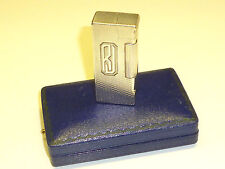 """DUNHILL """"ROLLBOY"""" LIFTARM LIGHTER - 925 ENGLISH STERLING SILVER -1949 - ENGLAND"""