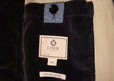 "J Crew Men's Corduroy ""Ludlow"" 3 Button Blazer, Size XL, Dark Gray"
