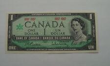 CANADA 1967  1 Dollar Bill Canadian Note Mint CRISP Banknote AU