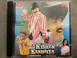 Kishen Kanhaiya - RARE MELODY Bollywood Music CD MCD 007