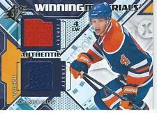 2013-14 Spx Hockey TAYLOR HALL #WM-TH Winning Materials Jersey Edmonton Oilers