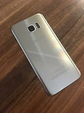 Original Samsung Galaxy S7 Edge G935F Backcover Akkudeckel Deckel Silber Silver