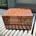 Japanese Small Tansu Beautiful Vintage Wooden Sawing Box Drawers Haribako Showa