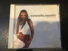 Samantha Mumba Baby come on over 3 track + video RARE Australian CD  POLYDOR