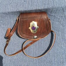 Over The Shoulder purse Handmade Morocan Real Leather Women