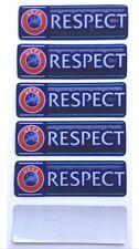 EUROPA LEAGUE RESPECT PATCH BADGES SLEEVE SHIRT FOOTBALL 5x