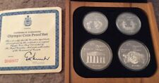 Vintage Canadian 1976 Montreal Olympics 4 Coin Silver Proof Set Series II