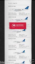 GARUDA INDONESIA 2008 FLEET FACTS CHART 2008 747-400-A330-300-B 737NG-737-400