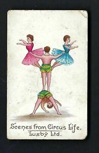 LUSBY - SCENES FROM CIRCUS LIFE - H264 #17