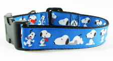 Snoopy dog collar handmade 12.00 all sizes adjustable buckle 1