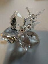 Swarovski Crystal Coll. Jubilee Edition 2007, Bee On Flower (20Th Year Anniv.)