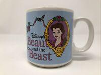 Vintage Disney Beauty and the Beast Coffee Tea Mug Applause Inc. Belle Korea