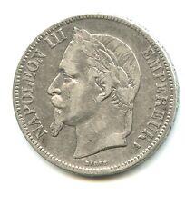 5 francs argent Napoléon III 1867 A  n°E978
