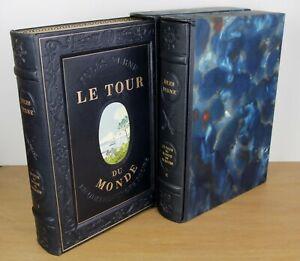 Jules Verne - Le tour du monde en 80 jours - Henry Lemarié - Edition du Cardan