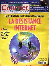 Courrier International   N°543   29 Mars 2001 : La resistance internet
